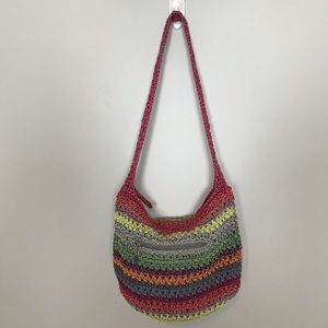 The Sak Small Hobo Shoulder Bag Gypsy Stripe